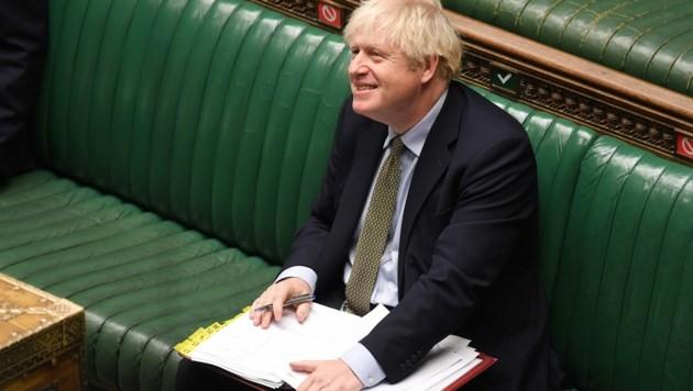 Der britische Premierminister Boris Johnson (Bild: AFP)