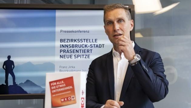Der Innsbrucker Heizungstechniker und bisherige Obmann der Sparte Gewerbe und Handwerk ist nun auch neuer Chef der Wirtschaftskammer Innsbruck. (Bild: WK Tirol/Die Fotografen)