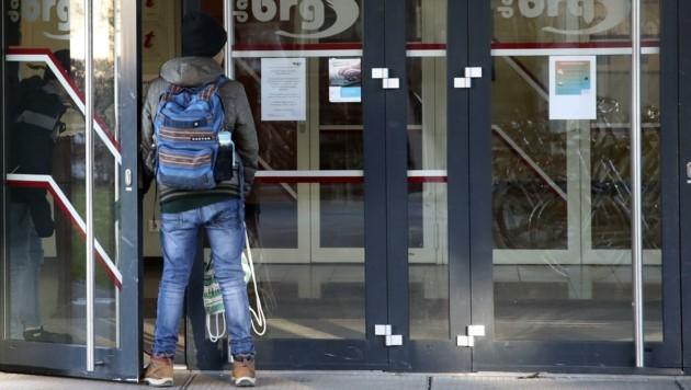 Ab Montag wird der Präsenzunterricht vielerorts eingestellt (Bild: Tröster Andreas)