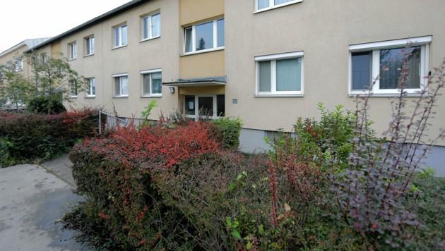 In einer Wohnung in diesem Mehrparteienhaus erstickte die 31-Jährige ihre drei Kinder - zwei Mädchen und einen acht Monate alten Buben. (Bild: Gerhard Bartel)