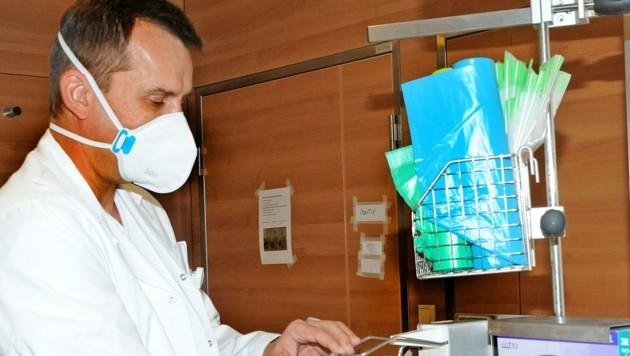 Täglich behandeln Primar Harald Stingl und sein Team Covid-Patienten im Melker Spital. (Bild: Crepaz Franz)