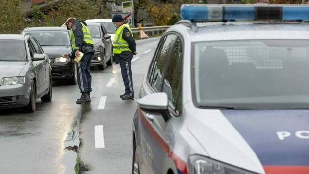 Während des kurzen Ausflugs wurde der Innviertler erwischt (Bild: APA/Franz Neumayr)