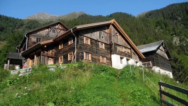 Die Ögghöfe im Kaunertal sind ein Beispiel für gelungenen Ensembleschutz in Tirol. (Bild: Land Tirol)
