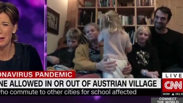 Kuchl als Thema bei CNN (Bild: Screenshot CNN)