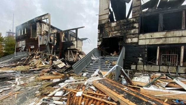 """Nach der verheerenden Explosion der Ausweichschule """"Fischbach"""" ist es nun fix: Dornbirn erhält ein neues Schulquartier. (Bild: Maurice Shourot)"""
