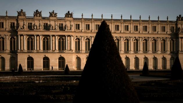 Das Schloss Versailles bei Paris (Bild: AFP)