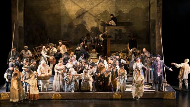 """Musical """"Anatevka"""" an der Grazer Oper (Bild: Werner Kmetitsch)"""