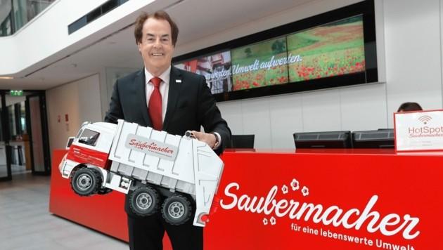Saubermacher-Gründer Hans Roth (Bild: Juergen Radspieler)
