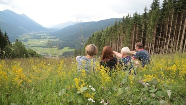Besonders bei Wanderern ist das Gitschtal beliebt (Bild: Hronek Eveline)