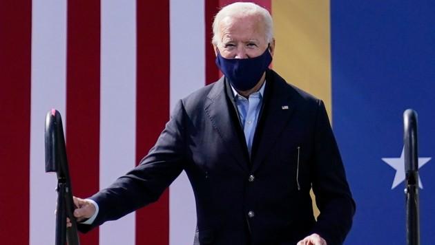 Der demokratische US-Präsidentschaftskandidat Joe Biden (Bild: The Associated Press)