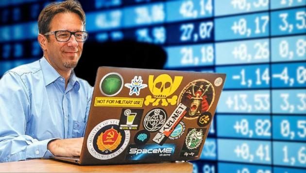 IT-Experte Martin Herfurt ortet Schwachstellen im Internet (Bild: REUTERS/Regis Duvignau, Markus Tschepp)