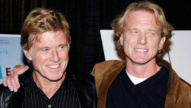Robert Redford und Sohn James Redford (Bild: 2003 Getty Images)