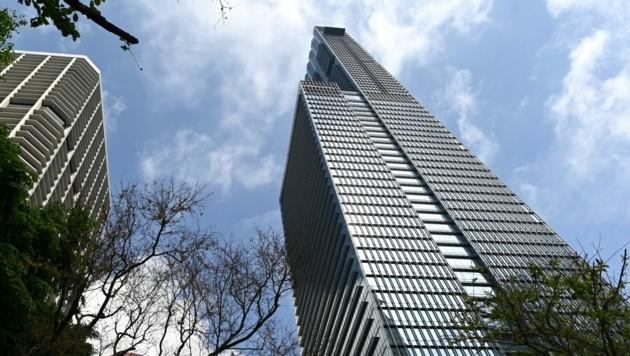 Seine Penthouse-Wohnung im Guoco Tower von Singapur hatte sich James Dyson 54 Millionen Dollar kosten lassen. (Bild: AFP)