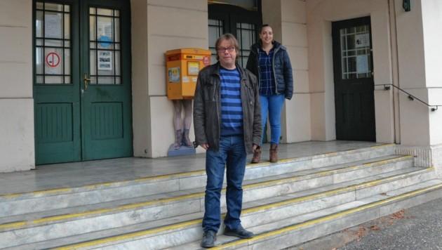 Westbahnhoffnung-Gesamtleiter Marjan Kac und Geschäftsleiterin Marija Kac. Vor 20 Jahren wurde der Verein ins Leben gerufen. (Bild: Katrin Fister)