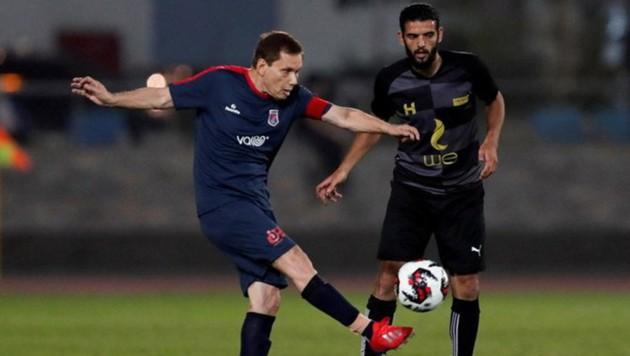 Ezzeldin Bahader (li.) (Bild: twitter.com/footballghana3)