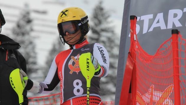 Amanda Salzgeber ist optimistisch, dass sie schon bald wieder am Start stehen kann. Überstürzen will die junge Vorarlbergerin aber nichts. (Bild: Peter Weihs/Kronenzeitung)