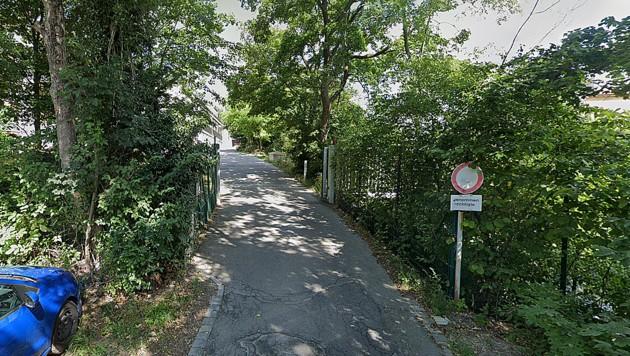 Über 40 Lehrer und Schüler des Bundesinternats am Himmelhof in Hietzing sind mittlerweile mit dem Coronavirus infiziert. (Bild: Screenshot Google Street View)