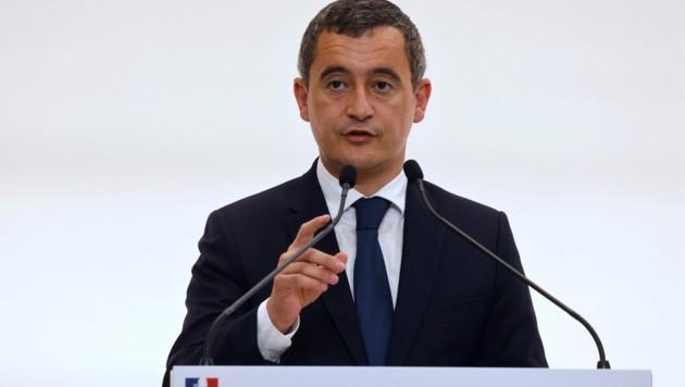 Der französische Innenminister Gerald Darmanin (Bild: APA/AFP/POOL/Ludovic MARIN)