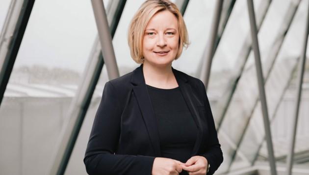 Brigitte Hütter, Rektorin der Kunstuni Linz (Bild: vog)