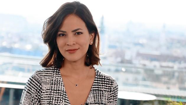 krone.tv-Moderatorin Katia Wagner