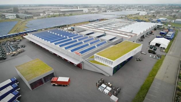 Die Visualisierung des 20 Millionen Euro teuren Werkes in Deutschland. (Bild: www.sonaar.at)