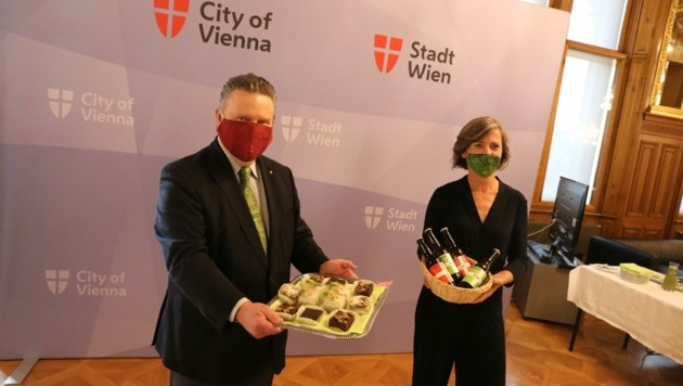 Bürgermeister Michael Ludwig (SPÖ) und Vizebürgermeisterin Birgit Hebein (Grüne) (Bild: Jöchl Martin)