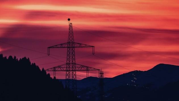Mehr als 400 Masten für die 380-kV-Freileitung durch Salzburg werden nun errichtet (Bild: EXPA/ Stefanie Oberhauser)
