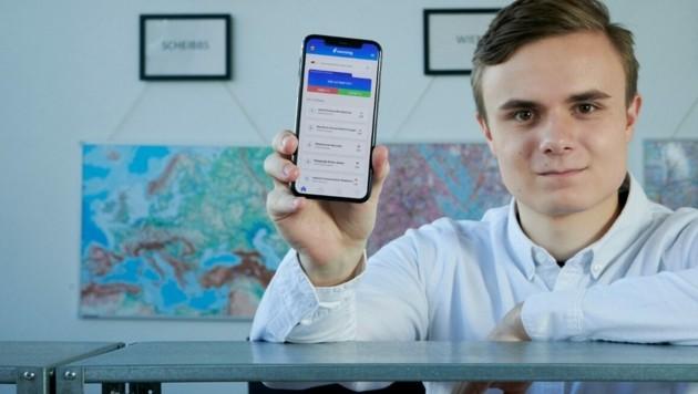 "Benjamin Hadrigan, Gründer von ""Lernsieg"" (Bild: Lernsieg Mobile Media GmbH)"