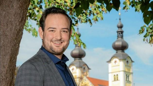 Maximilian Peter, Bürgermeister-Kandidat der VP St. Andrä. (Bild: ÖVP St. Andrä)