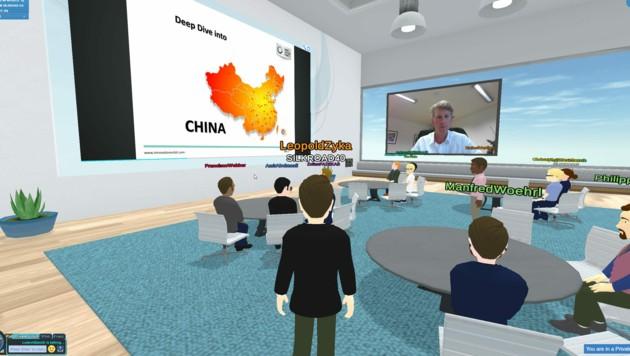 Networking 4.0: Avatare als virtuelle Stellvertreter im Cyberspace. (Bild: Silkroad 4.0)