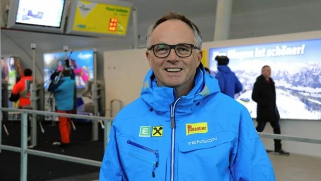 Verbandspräsident Karl Schmidhofer ist für den steirischen Ski-Winter zuversichtlich (Bild: Christian Jauschowetz)
