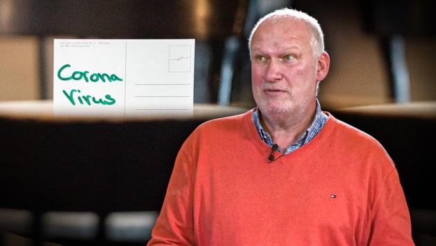 Bernd Querfeldt, Geschäftsführer Café Landtmann (Bild: krone.tv, Krone KREATIV)