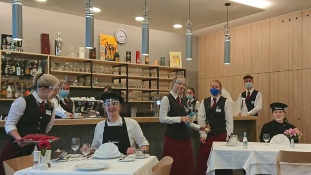 Die Schüler der Tourismusschulen in Bad Leonfelden haben keine Herbstferien (Bild: Baletour)