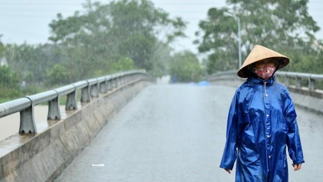 Eein neuer Tropensturm steuert das südostasiatische Land bereits an. (Bild: AFP)