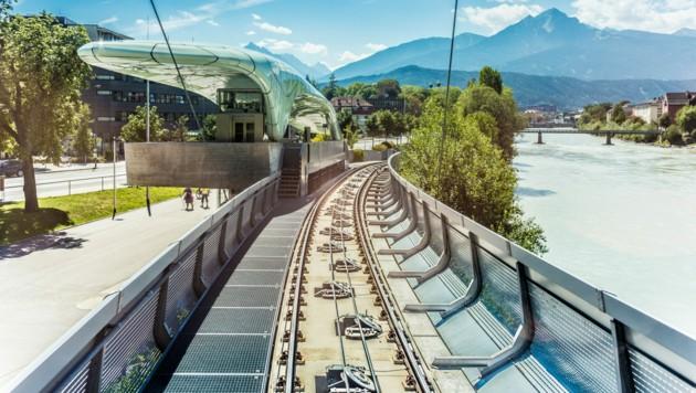 Bergbahn der Innsbrucker Nordkette (Bild: ©Anibal Trejo - stock.adobe.com)
