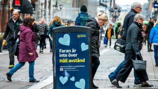 Ältere Menschen werden in Schweden nicht mehr dazu aufgefordert, sich selbst zu isolieren. (Bild: AP)