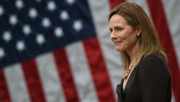 Amy Coney Barrett (Bild: AFP)