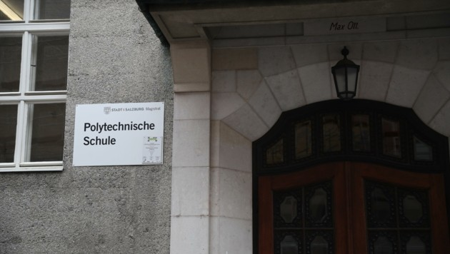 """Dem Vernehmen nach durften Lehrer des """"Poly"""" nichts an die Öffentlichkeit tragen. (Bild: Tröster Andreas)"""
