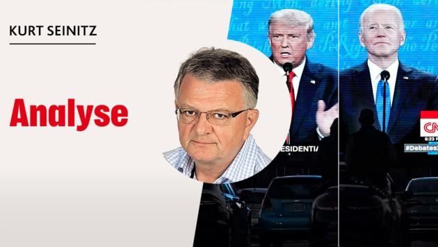 """""""Krone""""-Außenpolitik-Experte Kurt Seinitz analysiert für Sie. (Bild: AP, Krone KREATIV)"""