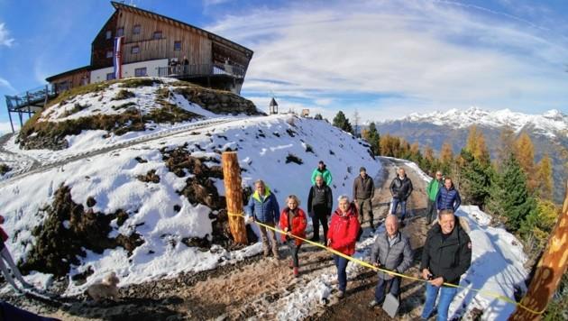 Die Hochsteinhütte ist ans Lienzer Wegenetz angeschlossen. (Bild: Sonnenstadt Lienz)