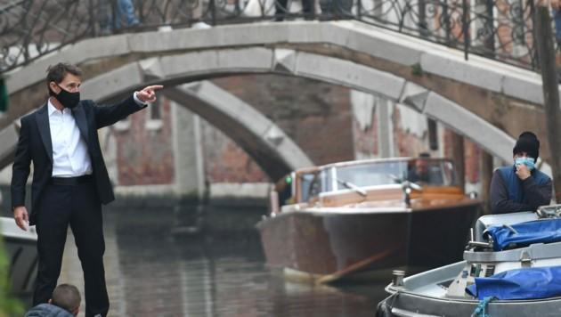 """Tom Cruise am Set von """"Mission Impossible 7"""" (Bild: www.PPS.at)"""