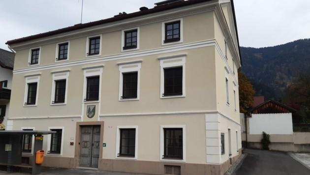 In sehr gutem Zustand: das alte Amtsgebäude von Treglwang. (Bild: Mathias Maislinger)
