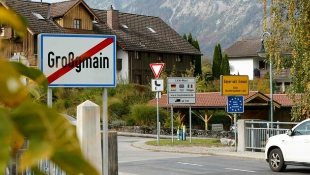 Gilt Salzburg als Risikogebiet wie derzeit, dann müssen Salzburger, die im benachbarten Deutschland arbeiten, einmal pro Woche einen Corona-Test nachweisen (Bild: Markus Tschepp)