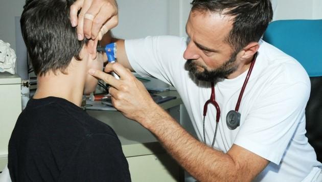 Vor allem in ländlichen Regionen fehlen Allgemeinmediziner wie Dr. Jakob Rosenthaler. (Bild: Crepaz Franz)
