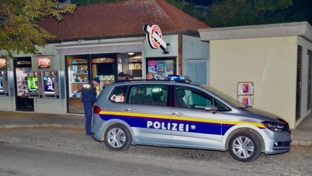 Tatort Trafik: Hier flüchteten die Räuber mit geringer Beute. (Bild: Monatsrevue/Lenger Thomas)