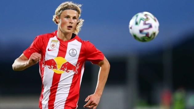 Maurits Kjaergaard kommt immer besser in Form. (Bild: GEPA pictures/ David Geieregger)