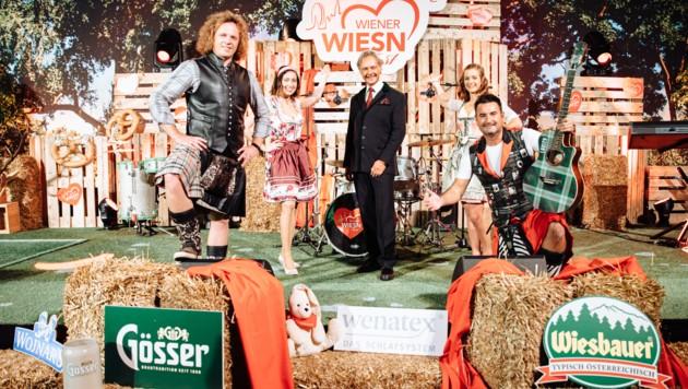 """2021 wird die Wiener Wiesn ""hybrid"" - so Wiesn Veranstalter Christian Feldhofer."" (Bild: Lukas Kucera)"