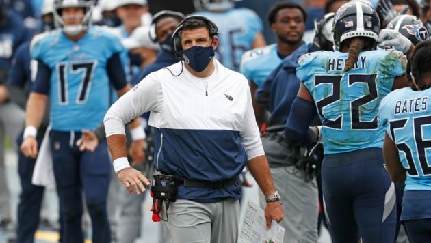 Titans-Coach Mike Vrabel (Bild: Associated Press)