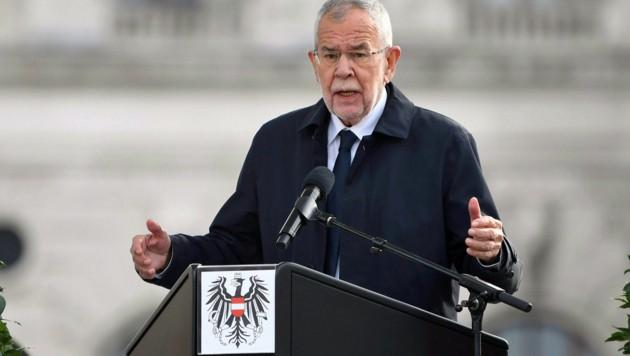 Bundespräsident Alexander Van der Bellen (Bild: APA/HELMUT FOHRINGER)