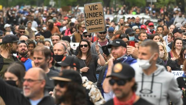 (Bild: William WEST/AFP)